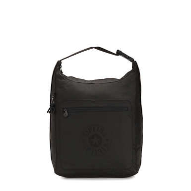 Morie Convertible Bag - Raw Black