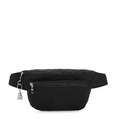 키플링 야세미나 벨트백 엑스 라지 Kipling Yasemina Extra Large Printed Waist Pack,Rich Black
