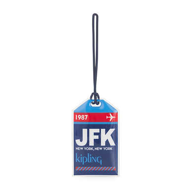 Puff Tag - JFK Blue