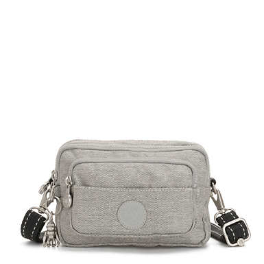 Multiple 2-In-1 Convertible Crossbody Bag - Chalk Grey