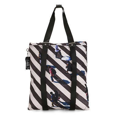 Lovilia Printed Convertible Bag - Zebra Crossing