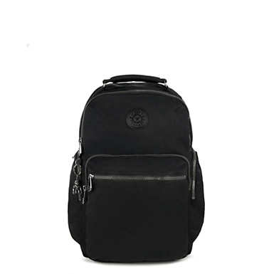 Osho Laptop Backpack - Rich Black