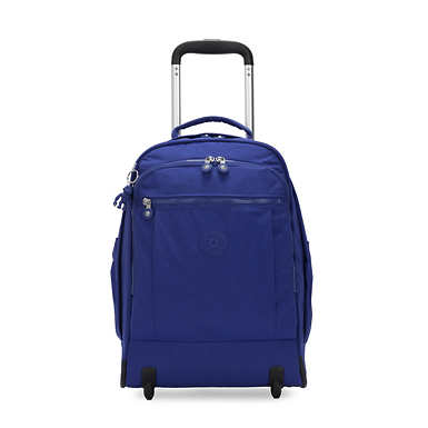 "Gaze Large 15"" Laptop Rolling Backpack - Laser Blue"