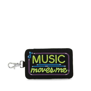 Music Moves Me Keycard Pouch - Music Moves Me
