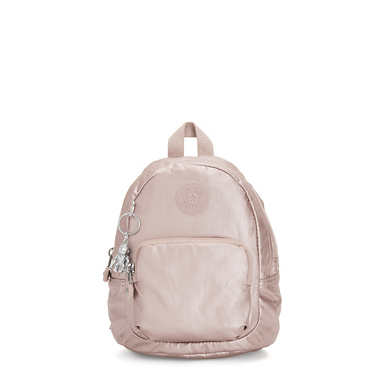 Glayla Metallic Convertible Mini Backpack - Metallic Rose
