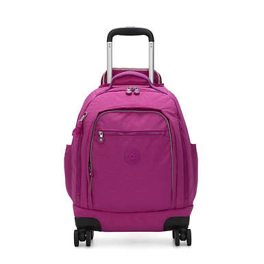 "Zea 15"" Laptop Rolling Backpack - Bright Pink"
