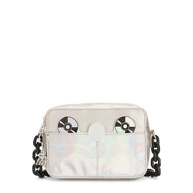 Alra Metallic CD Crossbody Bag - Block