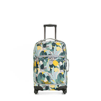Darcey Small Printed Carry-On Rolling Luggage - Urban Jungle