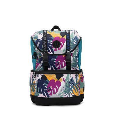 "Experience 15"" Printed Laptop Backpack - Active Jungle Block"