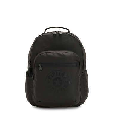 Seoul Large Laptop Backpack - Raw Black