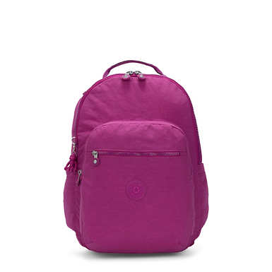 "Seoul Large 15"" Laptop Backpack - Bright Pink"