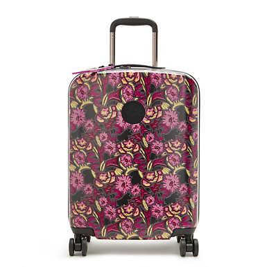키플링 X 안나 수이 롤링 러기지 스몰 Kipling Anna Sui Curiosity Small 4 Wheeled Rolling Luggage,Harvest Flower