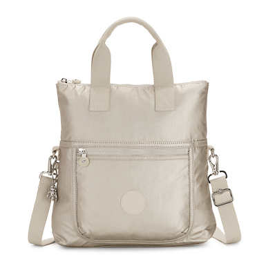 Eleva Metallic Convertible Tote Bag