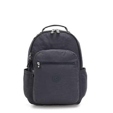 """Seoul Large 15"""" Laptop Backpack - Night Grey"""