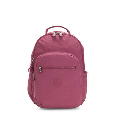 키플링 서울 백팩 라지 15인치 Kipling Seoul Large15 Laptop Backpack,Fig Purple