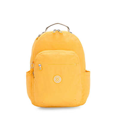 "Seoul Large 15"" Laptop Backpack - Vivid Yellow"
