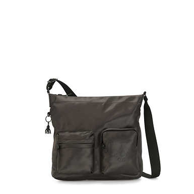 Panka Crossbody Bag - Cold Black