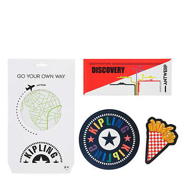 Antwerp Luggage Sticker Set