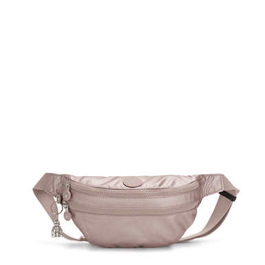 Sara Metallic Waist Pack - Metallic Rose