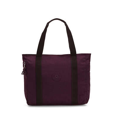 Asseni Tote Bag - Dark Plum