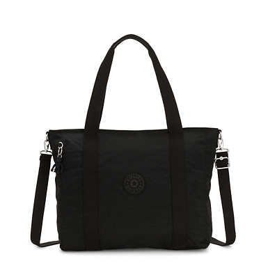 Asseni Tote Bag - Black Noir