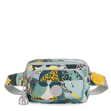 Mutliple 2-in-1 Printed Convertible Crossbody Bag - Urban Jungle