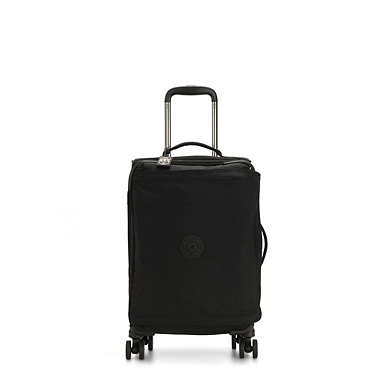키플링 캐리어 Kipling Spontaneous Small Rolling Luggage,Black Noir