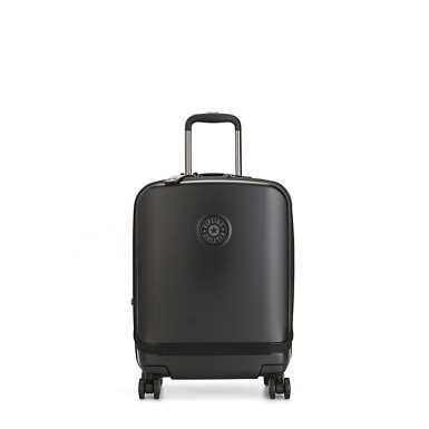 키플링 큐리오시티 롤링 캐리어 Kipling Curiosity Pocket 4 Wheeled Rolling Luggage,Black Noir