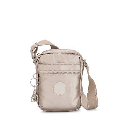 Hisa Mini Metallic Crossbody Bag - Metallic Glow