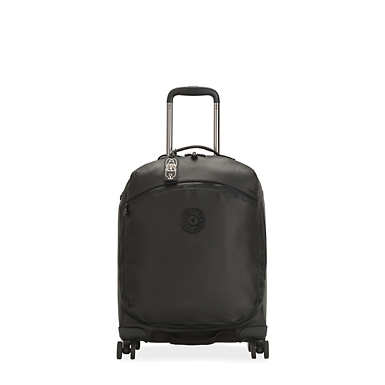 키플링 캐리어 Kipling Indulge 2-In-1 Rolling Luggage and Backpack,Raw Black