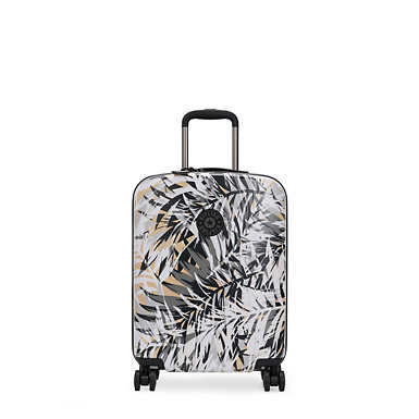 Curiosity Small Printed 4 Wheeled Rolling Luggage