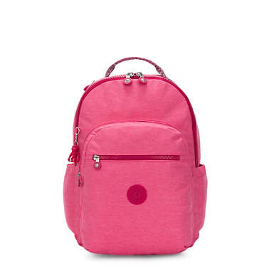 "Seoul Large 15"" Laptop Backpack - Dainty Pink"