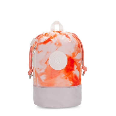 New Etoko Tie Dye Backpack - Tie Dye Red
