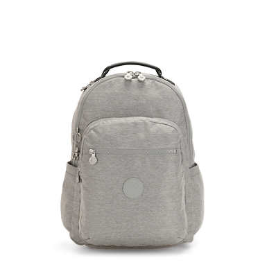 키플링 서울 가방 라지 15인치 Kipling Seoul Large15 Laptop Backpack,Chalk Grey