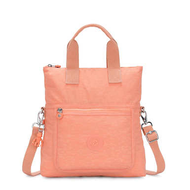 Eleva Convertible Tote Bag - Peachy Coral