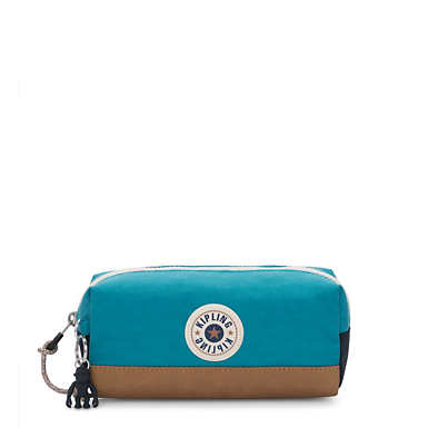 Barna Pouch - Turquoise Sea Tan
