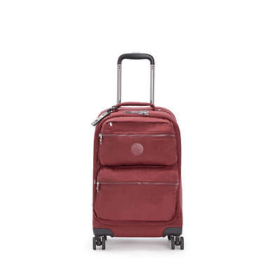 키플링 시티 스피너 롤링 캐리어 스몰 Kipling City Spinner Small Rolling Luggage,Intense Maroon