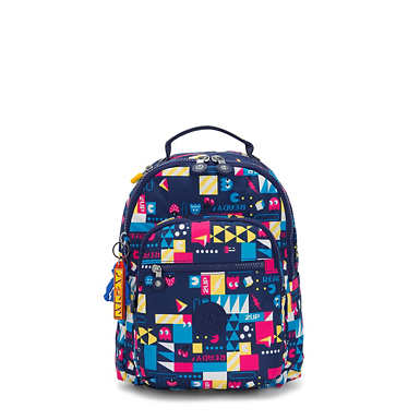 Seoul Small Pac-Man Tablet Backpack - Pacman BTS