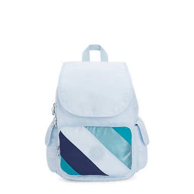 City Pack Medium Backpack - Blue Mix Block