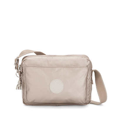 Abanu Medium Metallic Crossbody Bag - Metallic Glow
