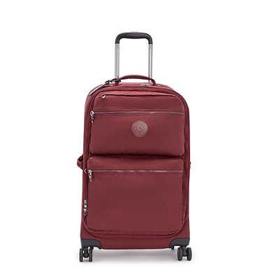 키플링 시티 스피너 롤링 캐리어 미디움 Kipling City Spinner Medium Rolling Luggage,Intense Maroon