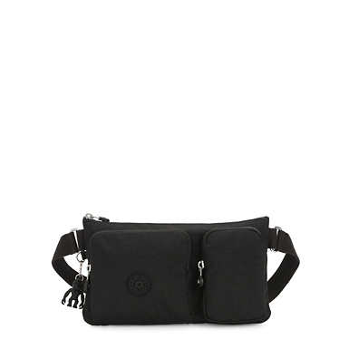 키플링 프레스토 업 벨트백 Kipling Presto Up Waist Pack,Black Noir