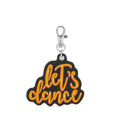 Let's Dance Monkey Keychain Charm - Multicolor