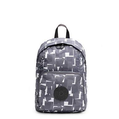 Ridge Printed Backpack - White
