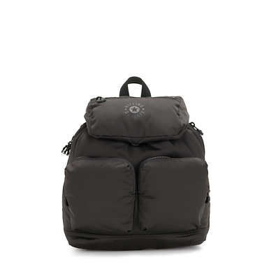 Elijah Medium Backpack - Cold Black