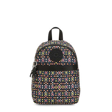 Imer Printed Backpack - Floral Mozzaik
