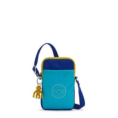 키플링 탈리 폰백, 미니백 - 블루 트로픽스 Kipling Tally Crossbody Phone Bag,Blue Tropics