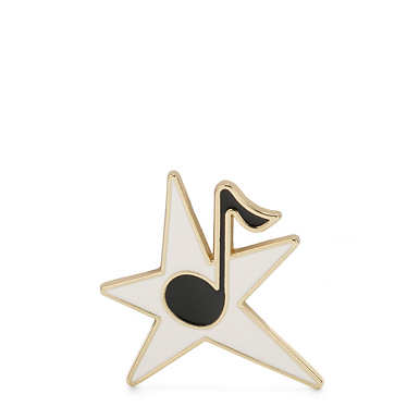 Star Note Pin - Multicolor