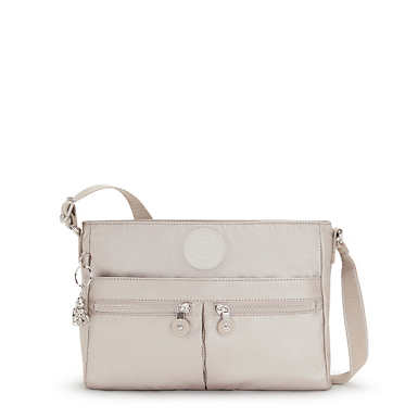 New Angie Metallic Crossbody Bag - Metallic Glow