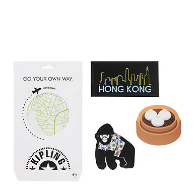 Hong Kong Luggage Sticker Set